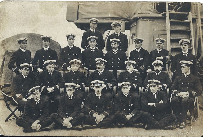 Crew of the HAMPSHIRE